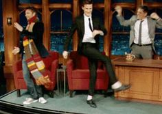 gif. This is how Whovians feel when we get to hang out together.