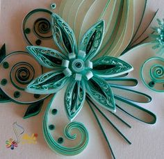 neli: Quilling cards-flowers by JumaBaich