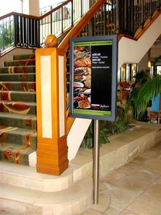 Command Digital Signage in the catering sector. #Doohdas