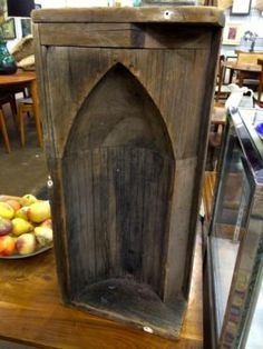 Wood Dye On Sale   Great architectural accent piece!  Was $165 Sale Price $99  Mid Century Finds   @Blanca Prado Elephant Antiques 1026 N. Riverfro...