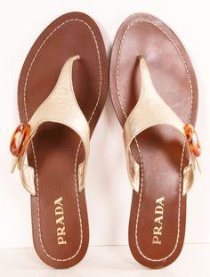 Prada sandals <3 love love these!!!