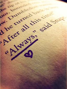 Harry Potter ... one word...makes me cry every time <3