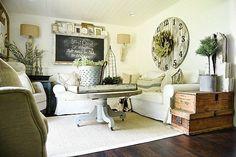 How To Give Any House Farmhouse Style | Liz Marie | Bloglovin'