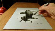 3D Drawing Hole by VamosArt.deviantart.com on @DeviantArt