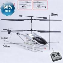 3 Ch Silver Night Fly Gyroscope RC Helicopter - 3 Channel - Gyroscope - Lights