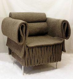 Felt armchair