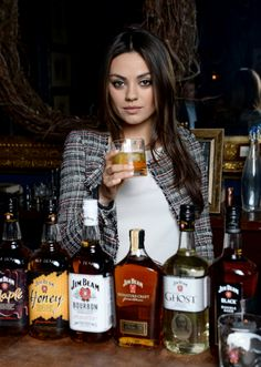 Global brand ambassador for Jim Beam. Just made me love her even MORE!