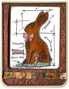 "Tim Holtz Cling Mount Stamps -Four Easter themed, deeply etched red rubber cling mount rubber stamps that adhere to any clear acrylic block. We highly recommend using them with Tim Holtz Grid-Blocks.measures approximately 3"" x 3"", butterfly measures approximately 2 7/8"" x 3 3/4"".Overall stamp sheet size: 7"" x 8 1/2""."