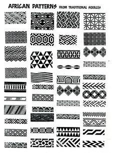 ILLUSTRATION // african patterns - ideas for zentangle per tinto filo Pattern Art, Print Patterns, Pattern Design, Pattern Ideas, Greek Pattern, Geometry Pattern, Hexagon Pattern, Paisley Pattern, Black Pattern