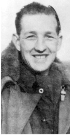 Frank Holmes RAF Mid Upper Gunner LAncasters Elsham Wolds WW2 One of Don Charnwood's Crew from 'No Moon Tonight'