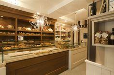 Bakery interior design italian style
