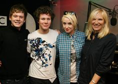 Jack O'Connell, Ollie Barbieri, and Lily Loveless