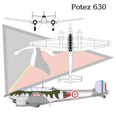 Potez 630 - Wikipedia, the free encyclopedia Ww2 Aircraft, Military Aircraft, Bristol Blenheim, Fighting Plane, Plastic Models, Wwii, Air Force, Fighter Jets, France