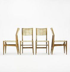 Ponti pointed chairs