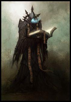 Chaos Sorcerer http://warhammer40k.wikia.com/wiki/File:Chaos_Sorcerer.jpg