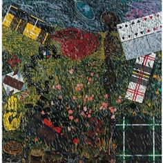 Artwork by Jennifer Bartlett, The Four Seasons: Spring, Made of Screenprint