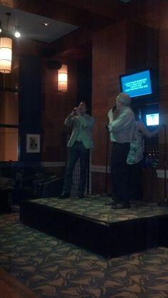 Duet with a friend @ Kimono's in Orlando.