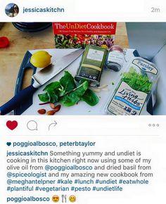 Live from California - Jessica sta cucinando qualcosa di buono con il nostro olio extravergine di oliva