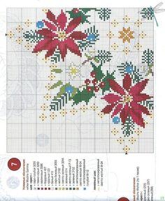 manteles de navidad (pág. 5)   Aprender manualidades es facilisimo.com