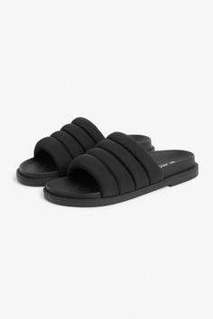 07c6b4bd3a7c Monki Padded sandals in Black Vivienne Westwood