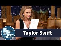 The Tonight Show Starring Jimmy Fallon: Taylor Swift and Jimmy Draw Each Other Without Looking