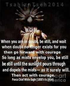 ©Tsahizn Tseh /Native American Quote.✔zϮ