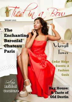 Tied In A Bow Magazine Cover For January 2017 Wedding Magazinesmagazine