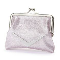 Adorable coin purses, perfect to carry on a day or night out. Great to carry around that change, lipsticks etc! Shown in baby pink sparkle.