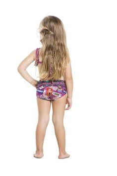 Luxury Kids Bikinis from Agua Bendita are something truly special. #boyshortbikini #littlekidfashion #kidstyle