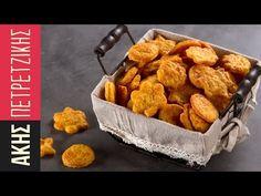 Κρακεράκια Τυριού | Kitchen Lab by Akis Petretzikis - YouTube