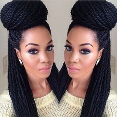 6 Ways to Style Box Braids   Chanel Boateng - African curls   African curls