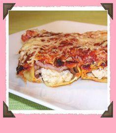 Légèreté & Gourmandises: Cannellonis poulet mozzarella et bacon (6 points)