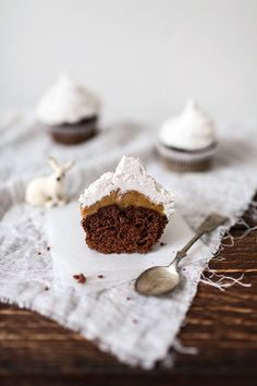 Caramel Mocha Muffins