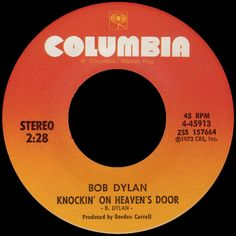 bob dylan - knockin' on heavens's door /// listen to it on http://radioactive.myl2mr.com /// plattenkreisel - circular record shelf, dj booth, atomic cafe, panatomic, records, rod skunk, vinyl, raregroove, crate digging, crate digger, record collection, record collector, record nerd, record store, turntable, vinyl collector, vinyl collection, vinyl community, vinyl junkie, vinyl addict, vinyl freak, vinyl record, cover art, label scan