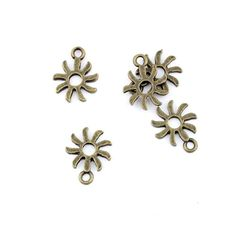 * Penny Deals * - Qty:10PCS Antique Bronze Jewelry Making Charms Findings Supplies Craft Ancient Repair Lots DIY Antique Pendant Vintage Z72795 Whirly Windmill ** Click image for more details.
