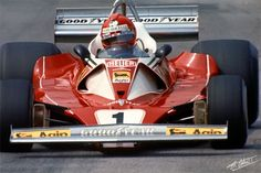 Lauda 1976 Monaco Ferrari 312T2