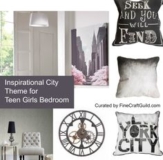These Teen Girls Bedroom Ideas are set out in 5 different mood boards, centered around a popular teenage theme. Teen Bedroom Designs, Bedroom Themes, Bedroom Ideas, Grey And White Wallpaper, Teen Girl Bedrooms, Shop Interior Design, Cool Wallpaper, Bedroom Inspiration, Smart Home