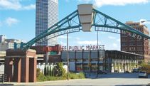 Historic Third Ward - A great place to spend the day walking! See the Milwaukee Public Market, shop in the unique stores, walk the Riverwalk, and take pictures of some of the old buildings...you'll never know what you'll find!