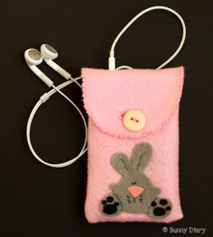 Bunny Felt iPhone case