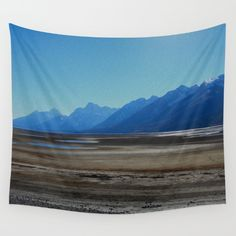 Buy Jackson Lake by Lotus Effects as a high quality Wall Tapestry. Worldwide shipping available at Society6.com.