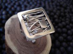 ARTE METAL JOYERIA: anillo plata diseño                              …