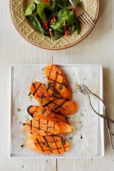 This smoked sweet potato dish is much better than the marshmallow covered things that always get served up with turkey.