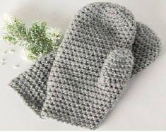 Crochet Unisex Mittens Any Size