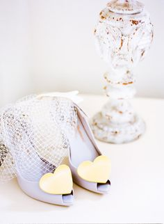 Vivienne Westwood jelly heart shoes make a great wedding show choice as you can still wear them after the wedding, hooray!
