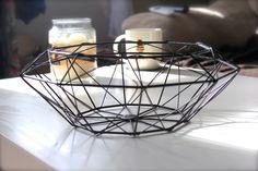 Geometric fruit bowl- Tiger