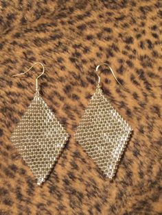 A personal favorite from my Etsy shop https://www.etsy.com/listing/229277418/handmade-beaded-earrings