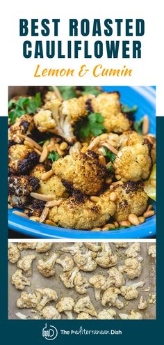 This foolproof recipe gives you roasted cauliflower that are sweet, tender, and with just the right amount of char every single time! Perfect weeknight dinner idea for the family! Mediterranean Appetizers, Mediterranean Diet Recipes, Mediterranean Dishes, Vegetarian Recipes Easy, Healthy Recipes, Free Recipes, Easy Recipes, Cooking Recipes, Cauliflower Dishes
