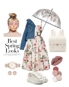Designer Clothes, Shoes & Bags for Women Spring Is Coming, Spring Looks, Thom Browne, Labs, Vera Bradley, Nordstrom Rack, Balenciaga, Polyvore Fashion, Alexander Mcqueen