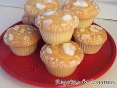 rezetas de carmen: Recopilatorio de recetas de magdalenas, muffins y cupcakes: