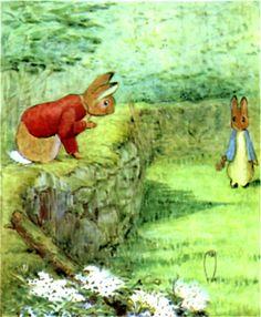 Benjamin Bunny and Peter